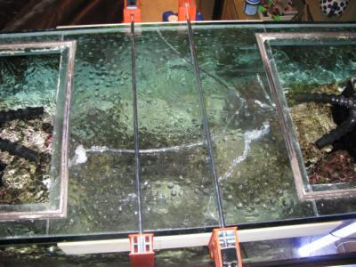 FAQs on Glass Aquarium Repair, Braces/Cross Supports 1