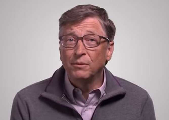 A Message to Lions from Bill Gates