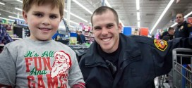 Wake Forest Police Capture Xmas Happiness for Local Kids