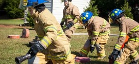 Stony Hill Fire Department Puts on Super Junior Firefighter Challenge