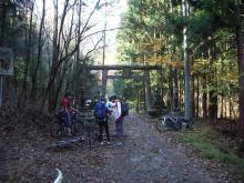 武甲山登り口