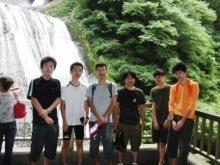 われらがWFR ★ 早稲田大学山岳サイクリング部動画日記-袋田の滝集合写真