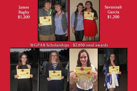 2016 WGPAB Scholarship Winners