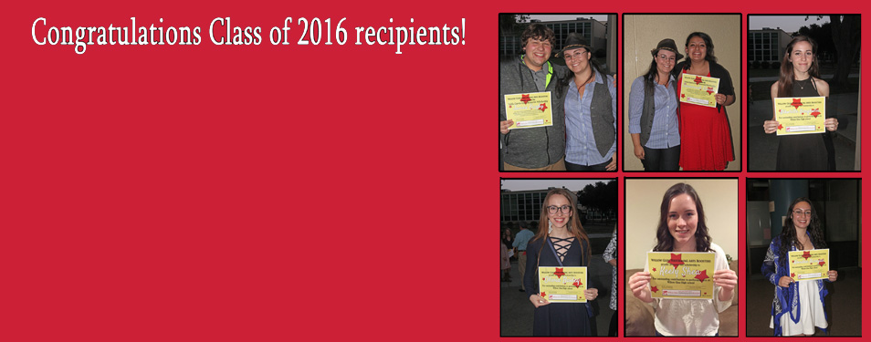 2016 WGPAB Scholarship Winners