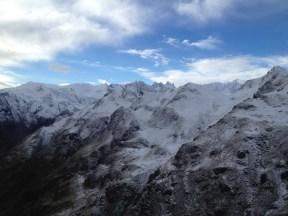 Fox & Franz Josef Glacier Helicopter View