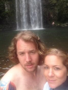 Justin & Kristin Butler Millaa Millaa Falls