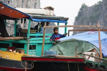 People of Halong Bay