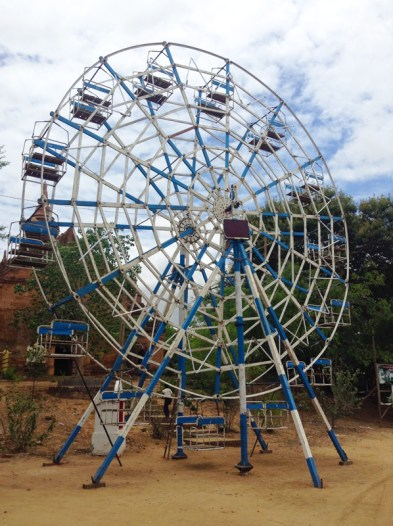 Human Powered Ferris Wheel