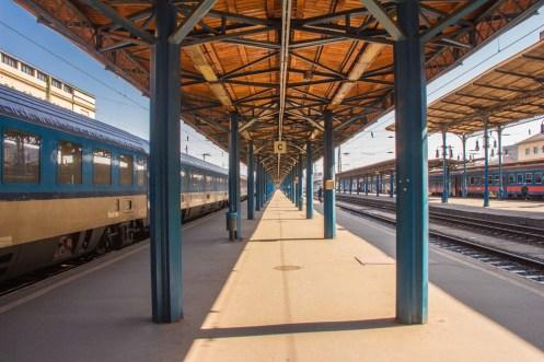 Keleti Train Platform