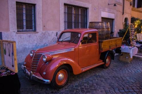 Old European Truck