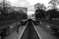 Stadtpark Train Station