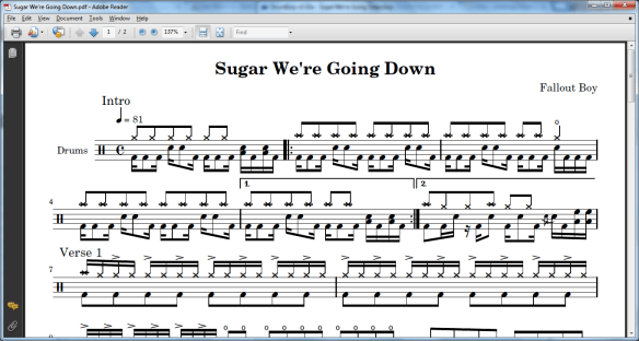 Use Lilypond to create sheet music