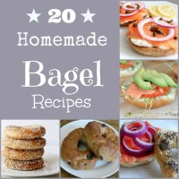 20 Homemade Bagel Recipes (and Schmear!)
