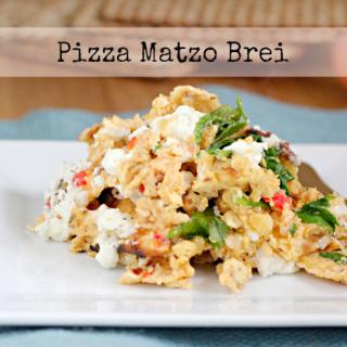 Pizza Matzo Brei #sharesabra