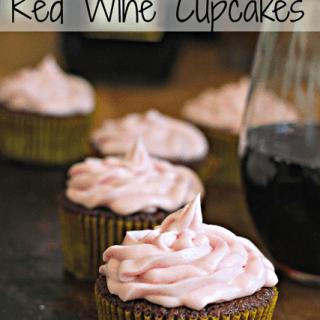 Manischewitz Red Wine Cupcakes