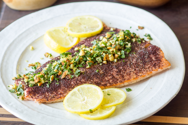 Sumac Roasted Salmon