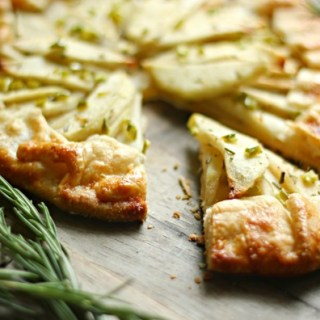 Green Chili Apple and Honey Galette