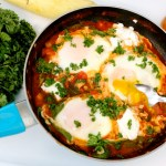 Shakshuka with Summer Squash and Goat Cheese (Giveaway Post!!)