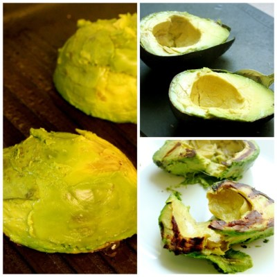 Grilled Avocado Hummus