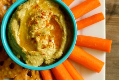 Grilled Avocado Hummus