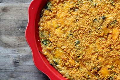 Kale and Mushroom Quinoa Mac and Cheese