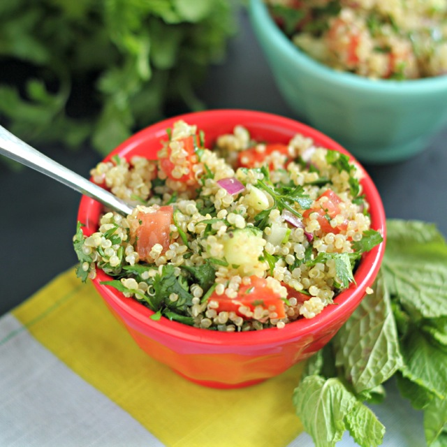 Quinoa Tabbouleh Salad and Gluten-Free Recipes For People ...