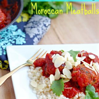 Slow Cooker Moroccan Meatballs