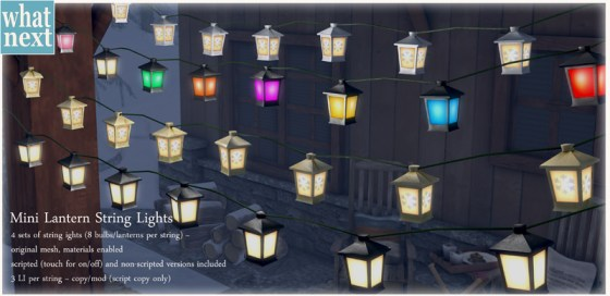 {what next} Mini Lantern String Lights Promo800