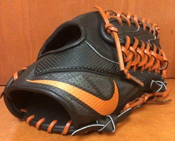 5 Texas Longhorns Nike MVP Select Trap Glove 2014
