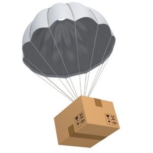 Parachute Mail Delivery