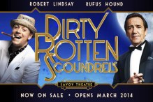 Dirty Rotten Scoundrels. Savoy Theatre.