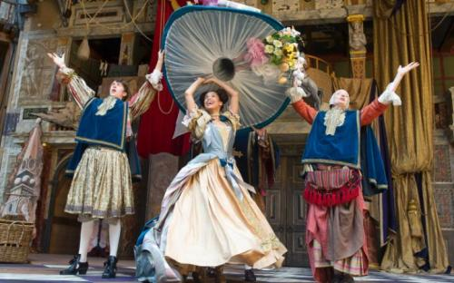 Nell Gwynn at Shakespeare's Globe Theatre.