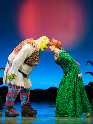 Shrek and Fiona go head-to-head