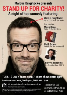 Marcus Brigstocke presents STAND UP FOR CHARITY!