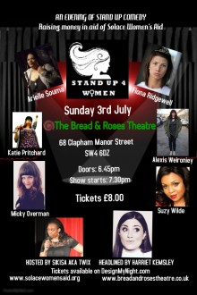 STAND UP 4 WOMEN – CLAPHAM EDITION