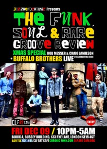 The Funk, Soul & Rare Groove Review Xmas Special w Buffalo Brothers [Live]