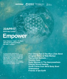 Empower – Earth Day London