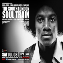 The South London Soul Train – Michael Jackson 8 Year Anniversary Special