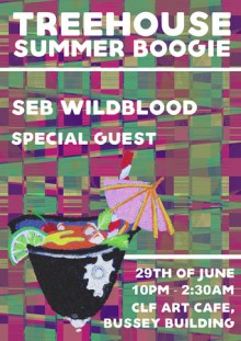 Treehouse Summer Boogie w/ Seb Wildblood