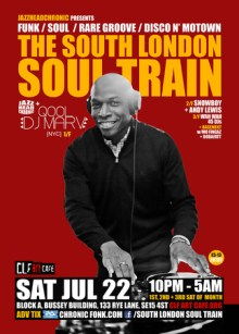 The South London Soul Train with JHC, Qool DJ Marv + More on 4 Floors