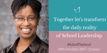 """Headteacher Conference – """"Education for the Soul"""" 2017"""