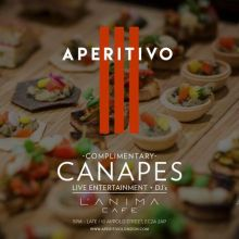 Aperitivo – Every Thursday – L'Anima Cafe