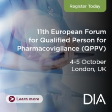 11th European Forum for Qualified Person for Pharmacovigilance (QPPV)