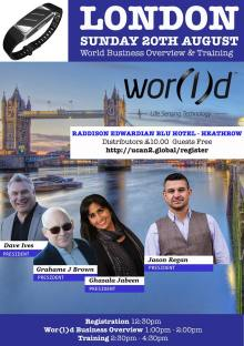 Wor(l)d Global Network Business Opportunity Presentation