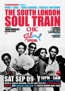 The South London Soul Train Chic & Salsoul Disco Special – More on 3 Floors