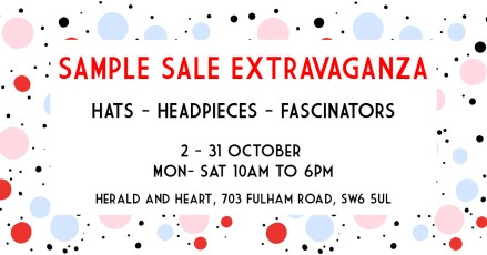 Sample SALE Extravaganza @Herald and Heart