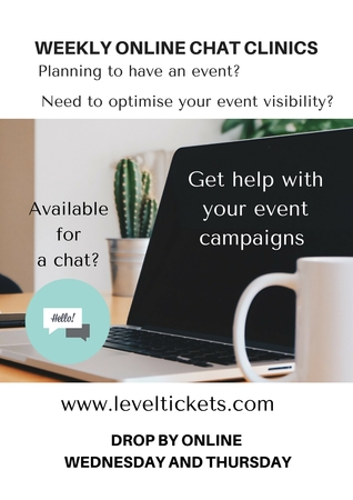 LevelUp Online Events Chat