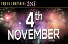 Mill Hill Fireworks Display (Fifth Birthday Event) November 4th 2017