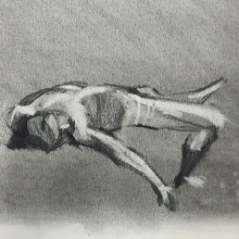 Charcoal on Toned Paper: Life Drawing Workshop