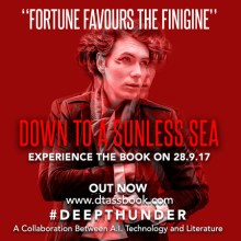 Immersive Book Launch – Down To A Sunless Sea